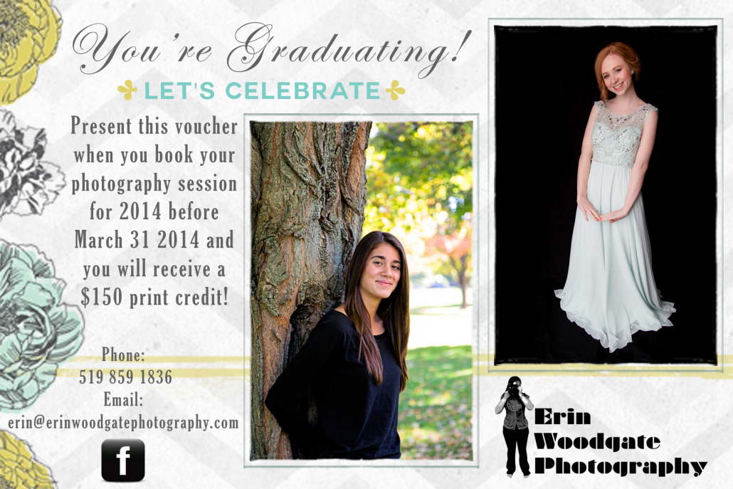 prom photography packages and swag purchases