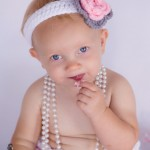 baby girl cake smash photography london ontario