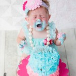 crying cake smash photography london ontario