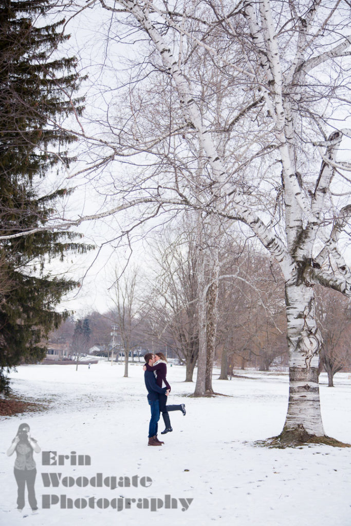 gibbons park engagement photography