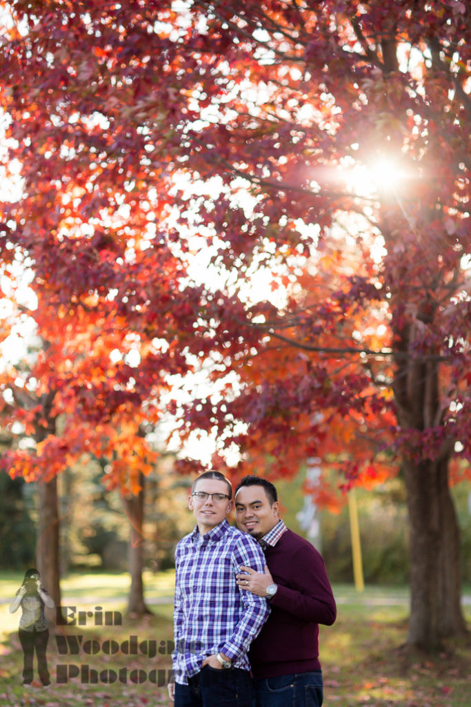 same sex engagement photography london ontario