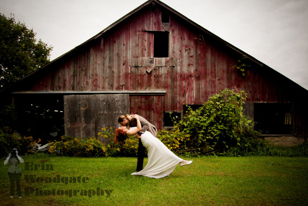 backyard wedding photography ontario