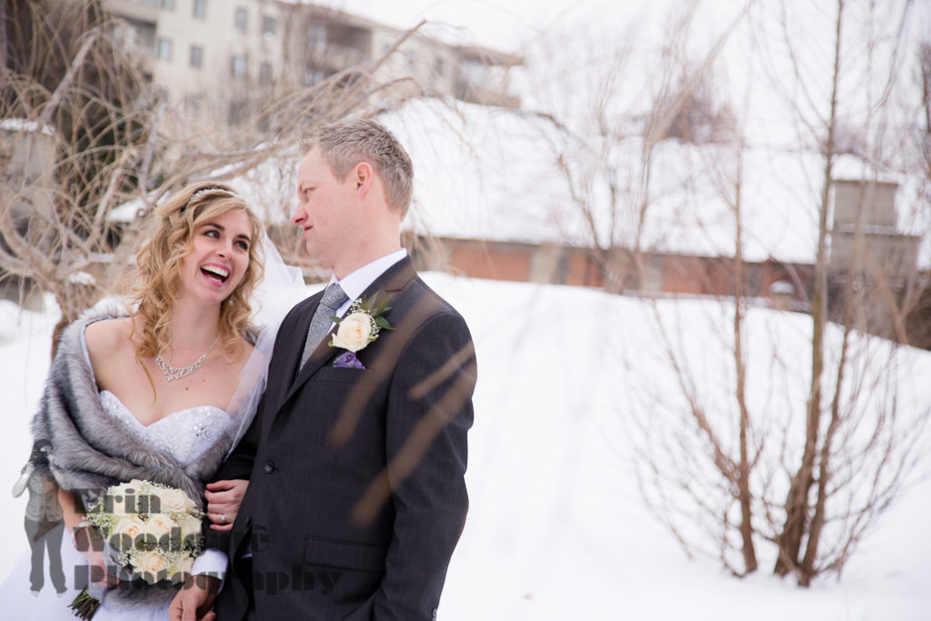 Winter Wedding Photography London Ontario