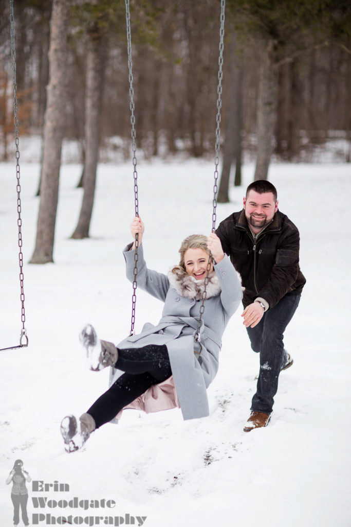 fun engagement photography London ontario