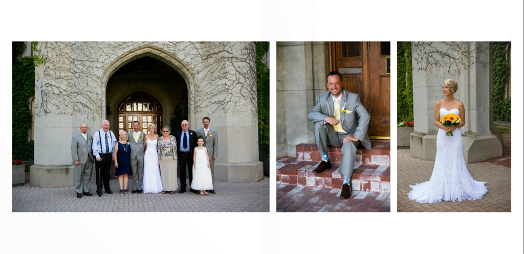 posed wedding photography london ontario