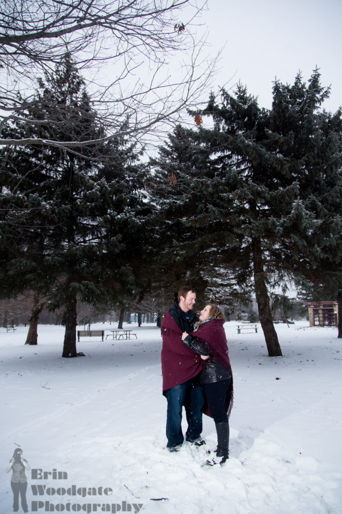 dramatic engagement photography london ontario