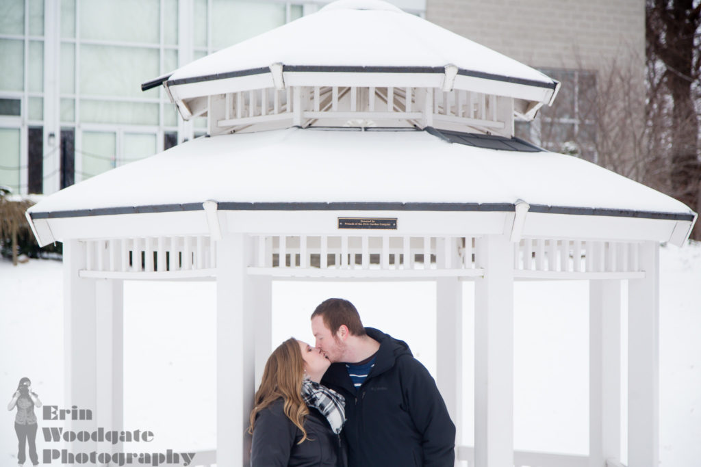 romantic engagement photography london ontario