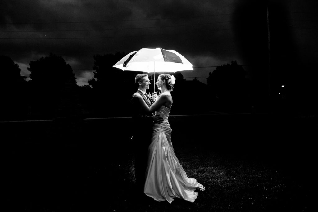 rainy wedding photography london ontario