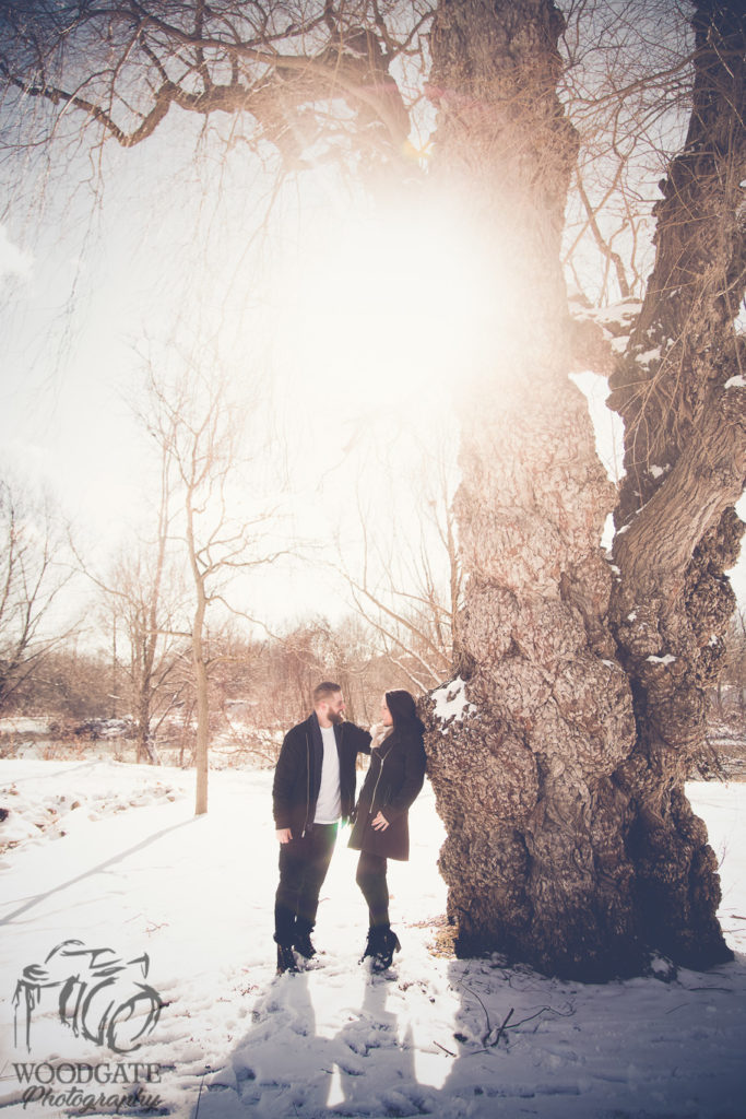 Winter Engagement Session London Ontario