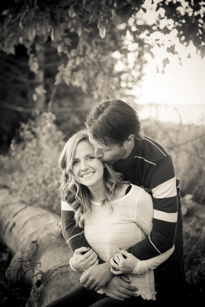 candid engagement photography london ontario